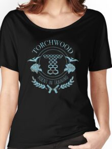 Torchwood - Agent in Training (2) Women's Relaxed Fit T-Shirt
