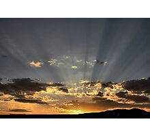Sunrays Over Sparks Photographic Print
