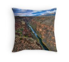 Canyon Del Rio Grande Throw Pillow