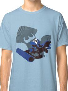 Dark Blue Female Inkling - Sunset Shores Classic T-Shirt