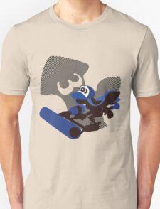 Dark Blue Female Inkling - Sunset Shores T-Shirt
