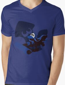 Dark Blue Female Inkling - Sunset Shores Mens V-Neck T-Shirt
