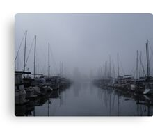 Long Beach Marina Canvas Print
