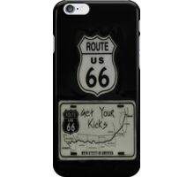 ✿◕‿◕✿  ❀◕‿◕❀ GET YOUR KICKS ON ROUTE 66 IPHONE CASE ✿◕‿◕✿  ❀◕‿◕❀ iPhone Case/Skin