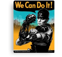 We Can Do It (Furiously) Canvas Print