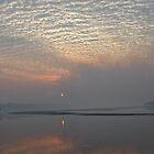 Purple dusk - Great Sandy Strait by June Hutson