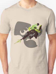 Light Green Female Inkling - Sunset Shores T-Shirt