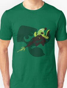 Light Green Female Inkling - Sunset Shores T-Shirt