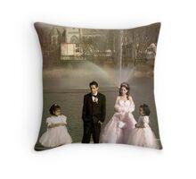 Shotgun Wedding Throw Pillow