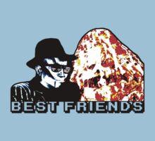 Best Friends - Eatin' Pizza T-Shirt