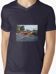 It Was Fun While It Lasted Mens V-Neck T-Shirt