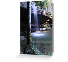 Buderim Waterfall QLD  Greeting Card