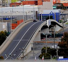 Melbourne City Overpass by Tom Newman
