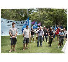 Civic Park Union Protest Poster