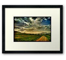 Quirindi Plains Framed Print