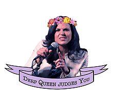 Derp Queen Judges You (Lana Parrilla) by Kengelina
