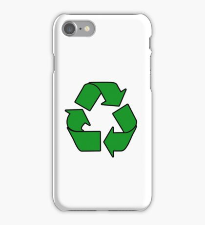 Recycle Sign Gifts & Products iPhone Case/Skin