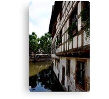 Strasbourg Impressions Canvas Print