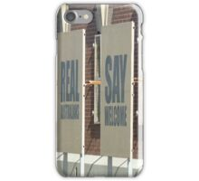 Real Australians Say Welcome iPhone Case/Skin