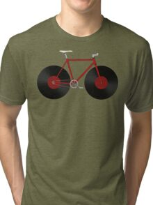Record Fixie Tri-blend T-Shirt