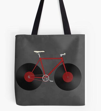 Record Fixie Tote Bag