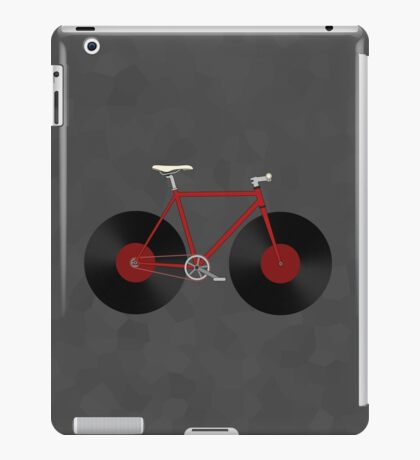Record Fixie iPad Case/Skin