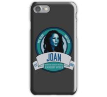Brownstone Brewery: Joan Watson Blackberry Witbier iPhone Case/Skin