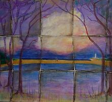 'landscape .... man, woman and destiny's map 3' by annamora