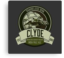 Brownstone Brewery: Clyde 'Shameless Diva' IPA Canvas Print