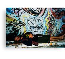 graffitti angel Canvas Print