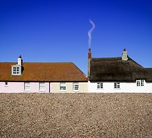 Cottages at West Bay by Mark Podger