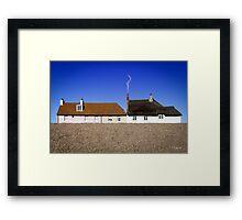 Cottages at West Bay Framed Print