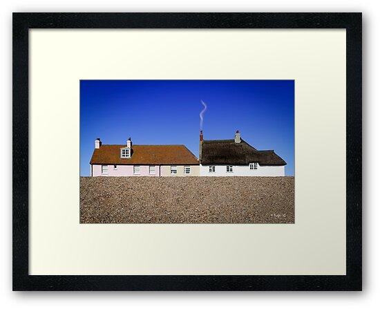 Cottages at West Bay by Mark Podger