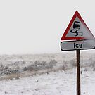 Ice warning by Shaun Swanepoel