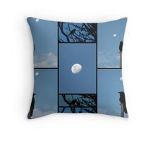 Dreaming on Moonlight by Daylight Throw Pillow