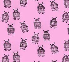Pink Robots by KeLu