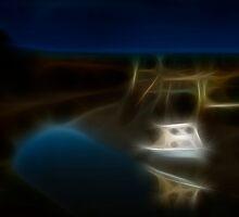 Up The Creek IX by Jurgen  Schulz