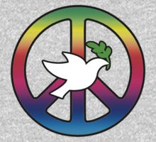 Peace Sign (With Dove of Peace) by Mark Podger