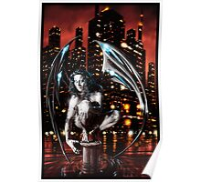 Robot Angel Painting 013 Poster