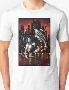 Robot Angel Painting 013 Unisex T-Shirt
