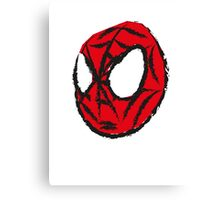 the crayola spiderman Canvas Print