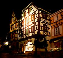 Night Moves @ Riquewihr by SmoothBreeze7