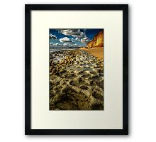 Rocky Pools Framed Print
