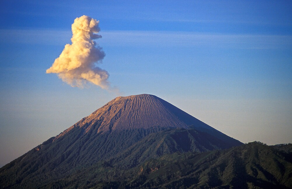 Smoke Outburst, Mt Bromo Volcano, Indonesia  by Petr Svarc
