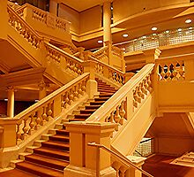Sir Samuel Way Building, Grand Staircase by patapping