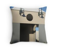 Shadow Shapes Throw Pillow