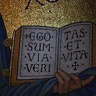 Ego sum via, veritas et vita by Rowan  Lewgalon