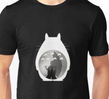 Totoro - Where I Stand #12 (White Silhouette) Unisex T-Shirt