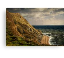 The Erosion Of History Canvas Print