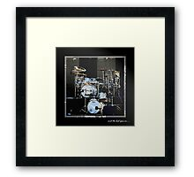 and the beat goes on.... Framed Print